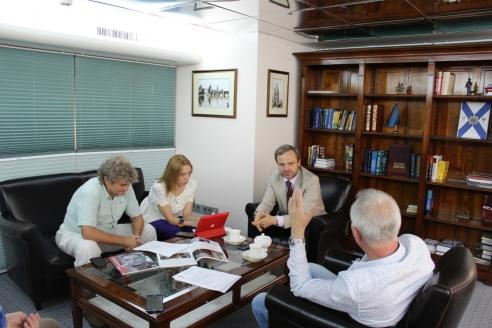 М.А.Чурбатов в редакции МР, 10 августа 2017 года