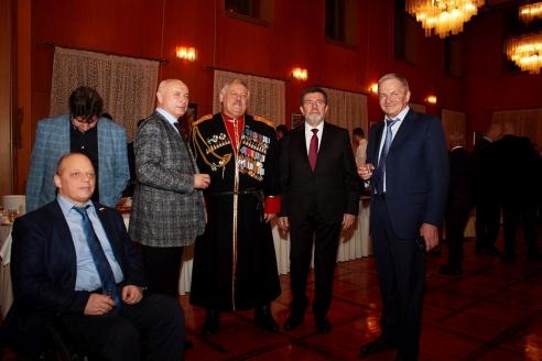 Приём в Посольстве Сербии, 15 февраля 2018 года