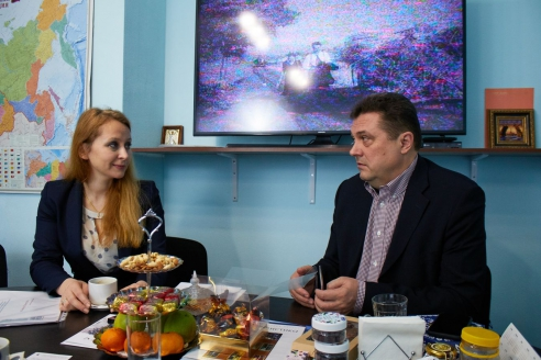 М.В. Забелина и В.Г. Соловьёв, 12 января 2018 года