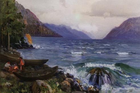 «Телецкое озеро». Г.И. Гуркин