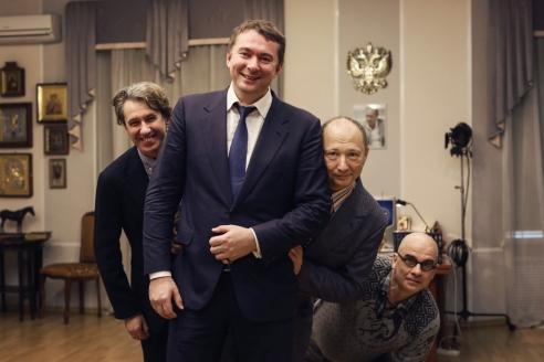 """Юрий Гальцев и его коллеги-актёры частые гости """"Ленфильма"""""""