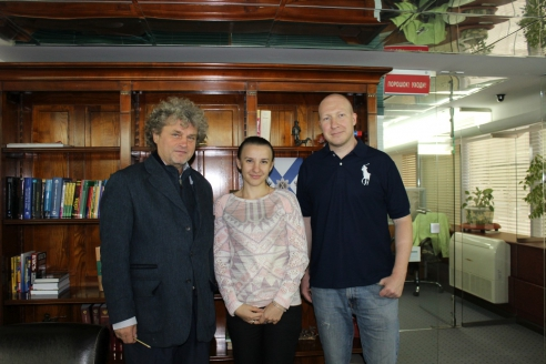 И.Шумейко, М.Долгополова, А.Лебедев в редакции МР, 19 сентября 2017 года