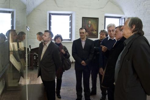 На экскурсии в Тобольском кремле. 2014 г.