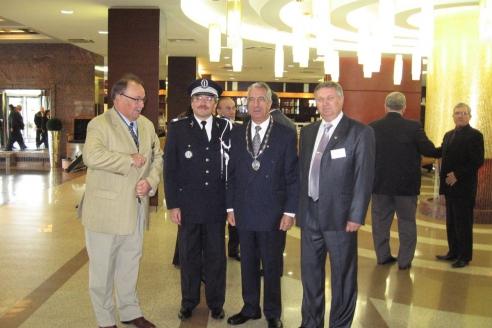 Международная конференция МПА в Москве. Встреча с экс-президентом МПА М. Одисеисом
