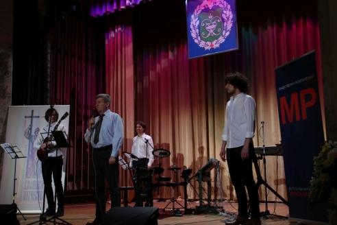 Благотворительный концерт в военном гоститале им. Н.Н. Бурденко, 24 апреля 2018 года