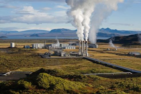 Несьявеллир ГеоТЭС. Исландия