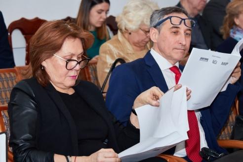 Л.Г. Шамикова и А.Г. Анисимов, 28 марта 2018 года
