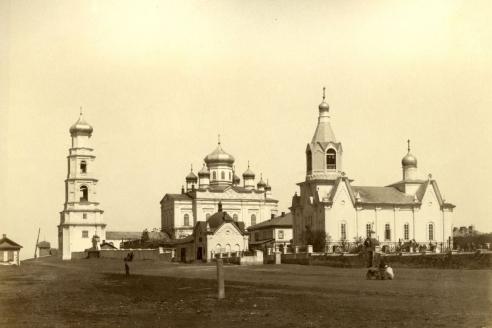 Успенский Богородицкий женский монастырь в Оренбурге. Конец XIX в.