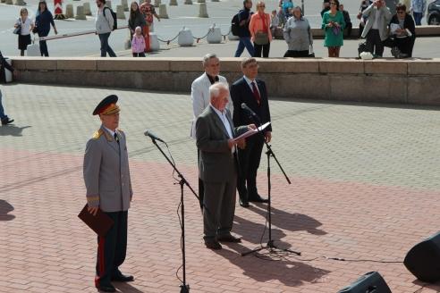Торжества по случаю 75-летия со дня образования суворовских и нахимовских училищ, 22 августа 2018 года