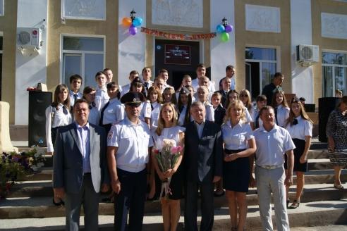 Подшефный полицейский класс «Г» школы № 1. Калач-на-Дону