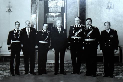 Награждение в Кремле. 1978 г.