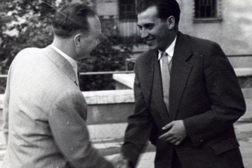С Владимиром Крючковым