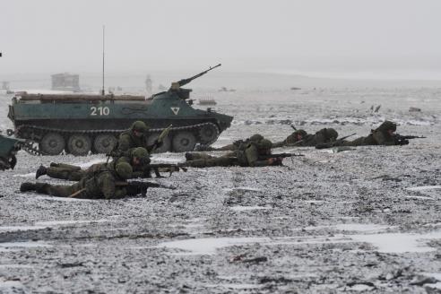 Бой за высадку на побережье острова Голомянный архипелага Северная Земля