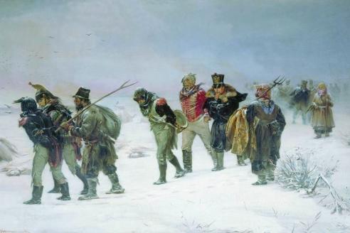 «В 1812 году». И.М. Прянишников. 1874 г.