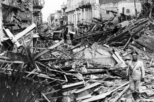 Землятресение в Мессине. 1908 г.