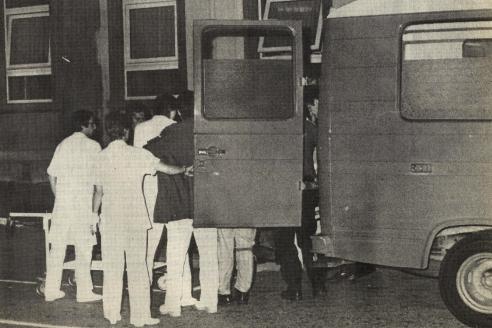 Фото из газеты «Ле Репюбликен Лоррен» от 30 сентября 1982 года