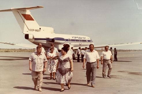 Прилёт в Каракалпакию. 1990 г.