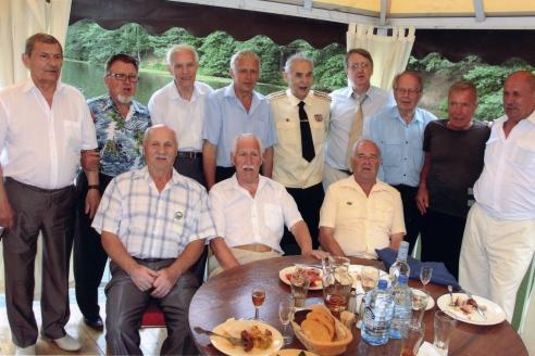 Встреча ветеранов первого экипажа АПЛ К-19 в день 55-летия героического подвига. 2016 г.