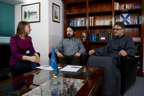 М.Долгополова, И.С.Вевюрко, И.Маслов, 13 декабря 2017 года