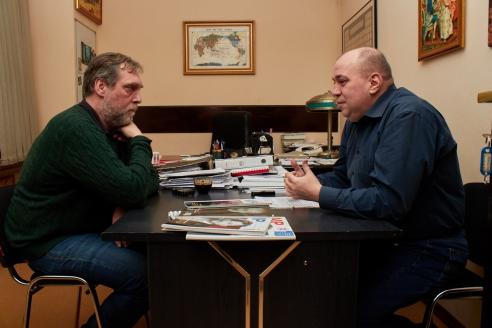 Н.В. Высоцкий и Д.А. Сурмило, 15 января 2018 года