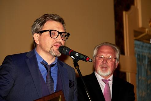 В.А. Такменев среди лауреатов премии Союза журналистов Москвы, 19 января 2018 года