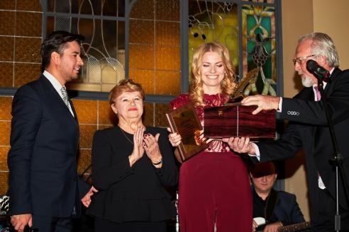 Церемония награждения лауреатов премии Союза журналистов Москвы, 19 января 2018 года