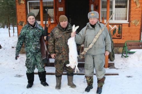 После охоты на зайца