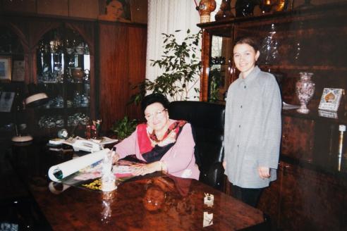 С  Людмилой Зыкиной