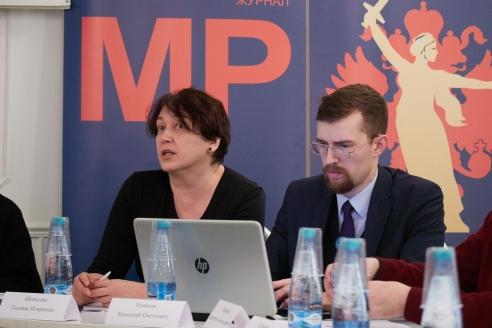 Г.И.Шевцова и Е.О.Иванов, 6 декабря 2017 года