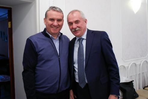 А.В.Мельник и Н.А.Кузнецов, 6 декабря 2017 года