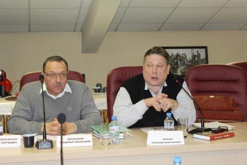 Владимир Катасонов и Александр Ефремов, 6 декабря 2017 года