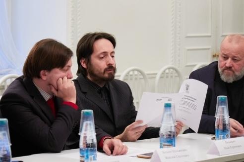М.С.Козлов-Шульженко, И.С.Вевюрко, Ф.Г.Драгой, 6 декабря 2017 года