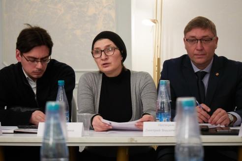 А.А.Серебрич, Г.А.Хизриева, Д.В.Нестеров, 6 декабря 2017 года