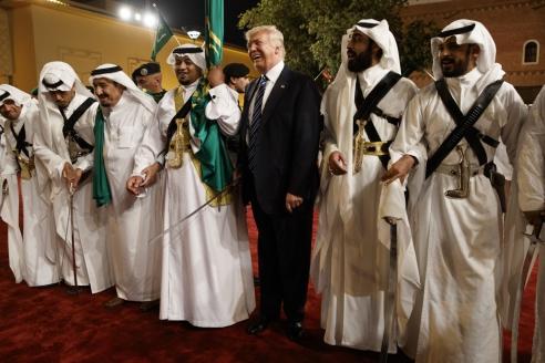 Визит Дональда Трампа (США) в Саудовскую Аравию