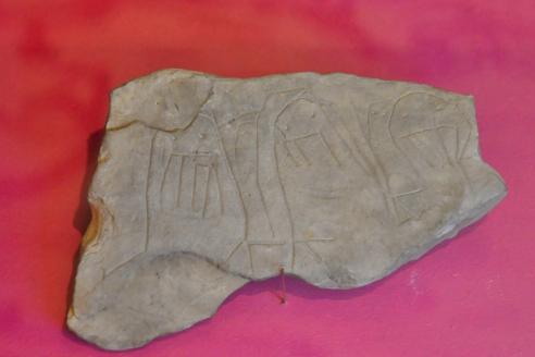 Камень с рисунком. XI-1половина XII вв.