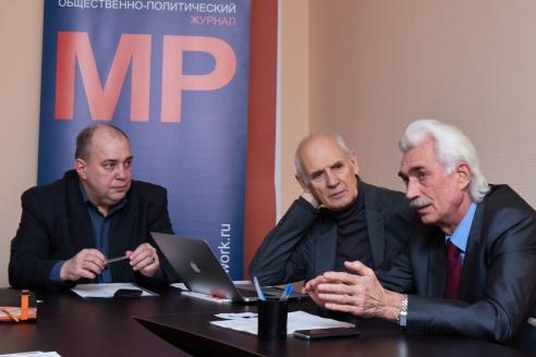 Д.А.Сурмило, О.И. Федотов, С.В. Черенков, 12 марта 2018 года