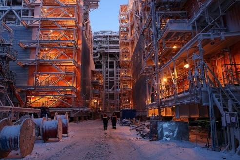 Завод «Ямал-СПГ»