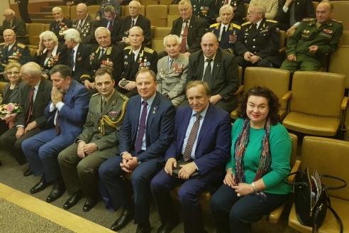 Торжественное заседание, посвященное 74-ой годовщине освобождения Красной Армией Белграда от немецко-фашистских захватчиков, 19 октября 2018 года