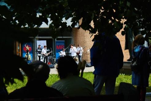 Праздничный концерт в госпитале им. Н.Н. Бурденко, 12 июня 2018 года