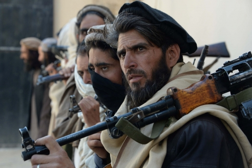 Боевики из движения «Талибан