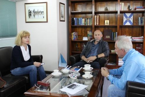Е.Ю. Иваниченко,  М.Г. Калинин, Н.А. Кузнецов, 6 июня 2018 года