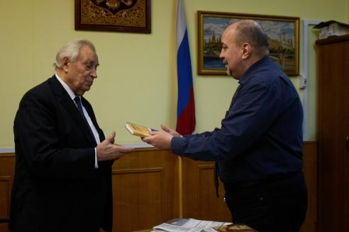 В.Н.Казимиров и Д.А.Сурмило, 9 декабря 2017 года