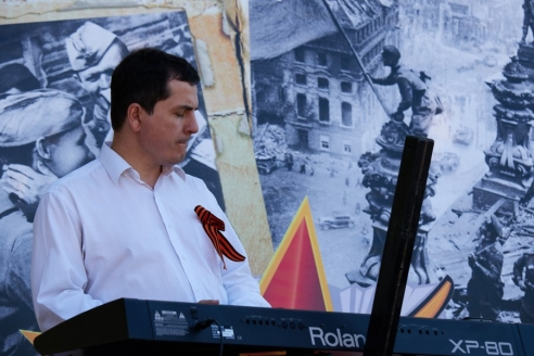 Благотворительный концерт в деревне Путилково, 9 мая 2018 года