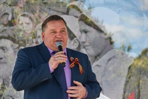 Глава муниципального округа Северное Измайлово А.И. Сергеев, 8 мая 2018 года