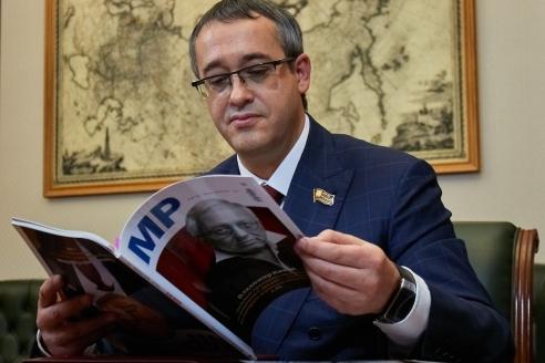 Председатель Московской городской Думы А.В.Шапошников, 30 октября 2017 года