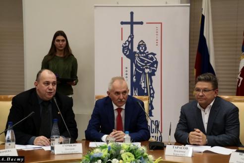 Д.А.Сурмило, Н.А.Кузнецов, В.Б.Тарасов, 1 ноября 2017 года