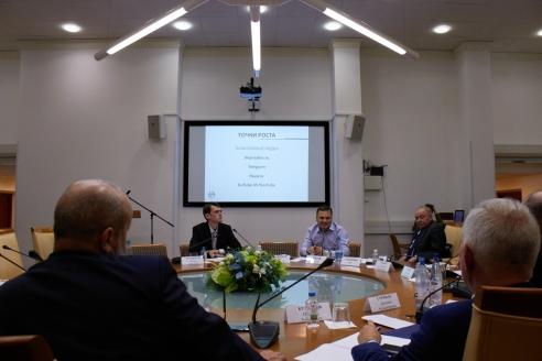 Участники круглого стола, 1 ноября 2017 года