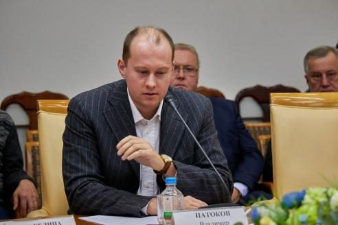 Директор «Русского культурного центра» В.В.Патоков, 1 ноября 2017 года