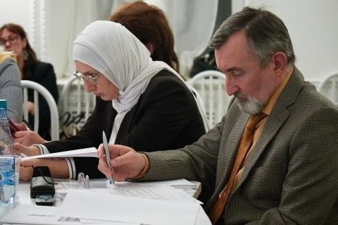 Г.А.Хизриева и В.И.Немыченков, 8 ноября 2017 года
