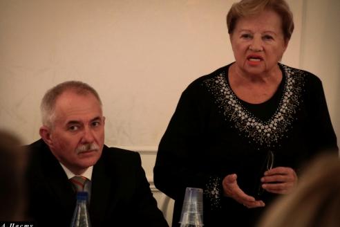 Н.А.Кузнецов и Л.В.Щербина, 8 ноября 2017 года